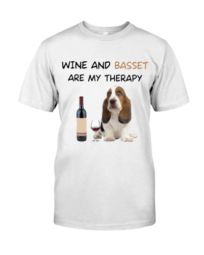 Basset Hound And Wine