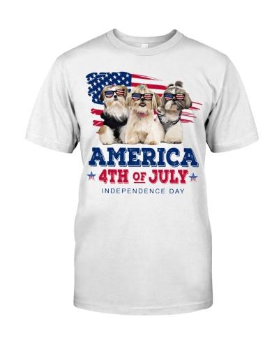 Shih tzu freedom shirt
