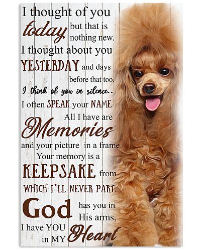 Poodle Memories