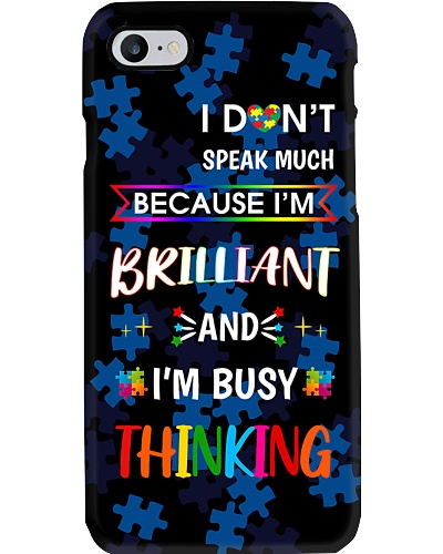 SHN Don't speak much I'm brilliant Autism
