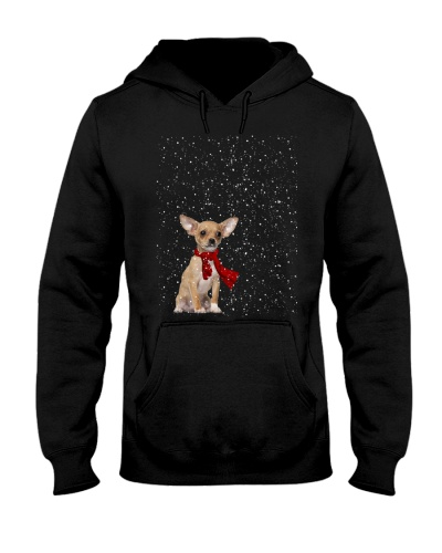 Chihuahua snow sky