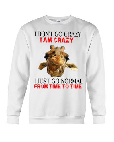 Giraffe go crazy