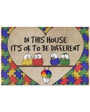 """autism doormat Doormat 22.5"""" x 15""""  front"""