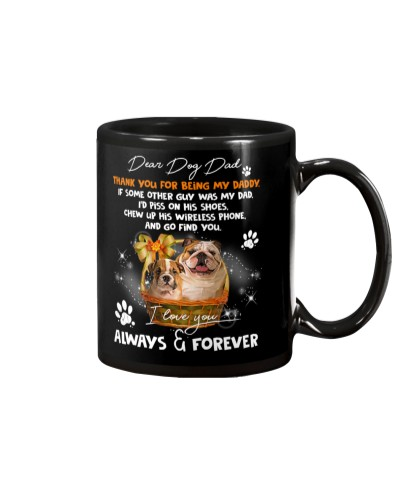 Bulldog forever mug