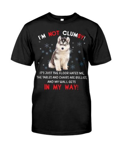 Siberian Husky I'm Not Clumsy