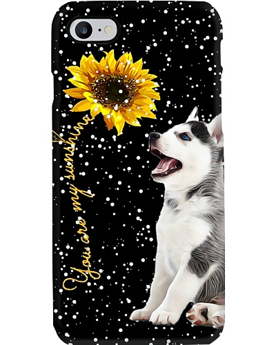 Siberian Husky my sunshine phone case