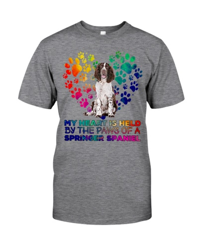 English Springer Spaniel my Heart Is Held
