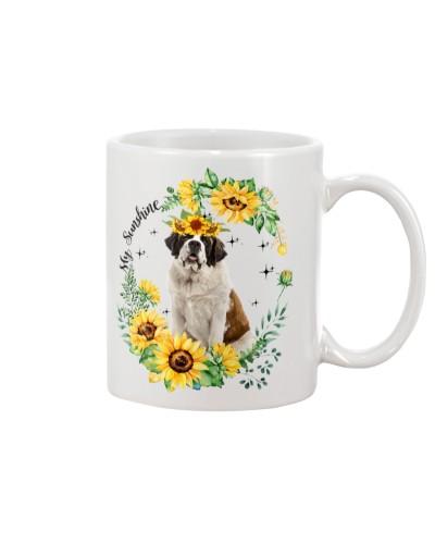 ST bernar my sunshine mug