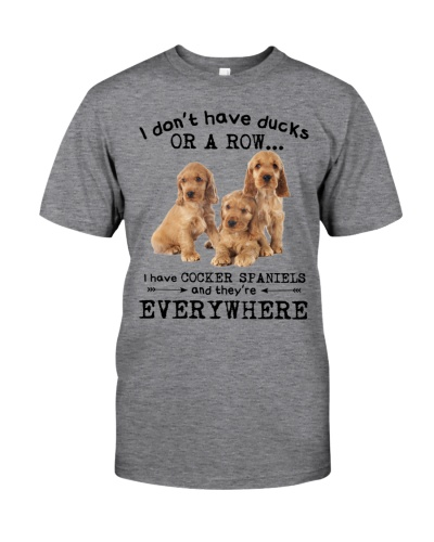 Cocker spaniel everywhere