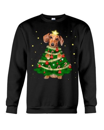 Dachshund Christmas Tree