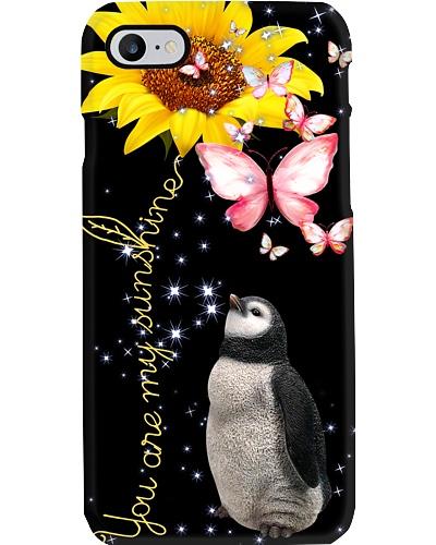 Penguin my sunshine phone case