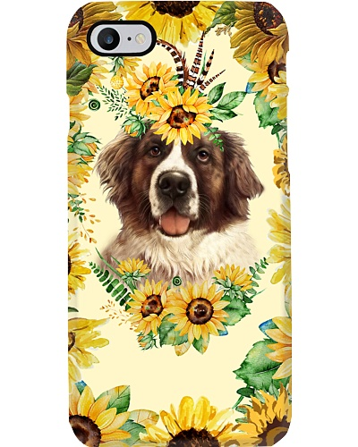 ST Bernard sunfower case