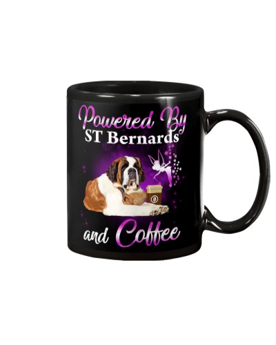 St bernards and coffee mug
