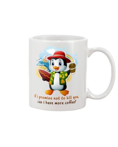 Penguin more coffee