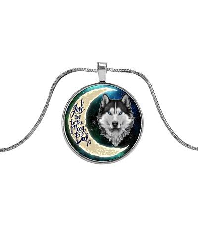 Siberian Husky To The Moon And Back