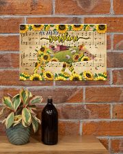 TTN 10 Pig You Are My Sunshine 17x11 Poster poster-landscape-17x11-lifestyle-23