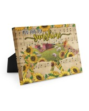 TTN 10 Pig You Are My Sunshine 10x8 Easel-Back Gallery Wrapped Canvas thumbnail