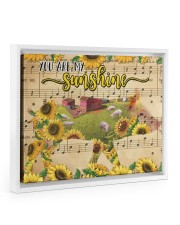 TTN 10 Pig You Are My Sunshine 14x11 White Floating Framed Canvas Prints thumbnail
