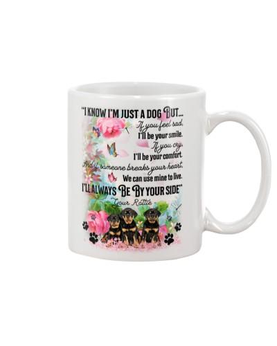Rottie i know mug