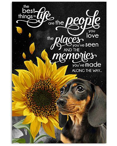Dachshund love memories  poster