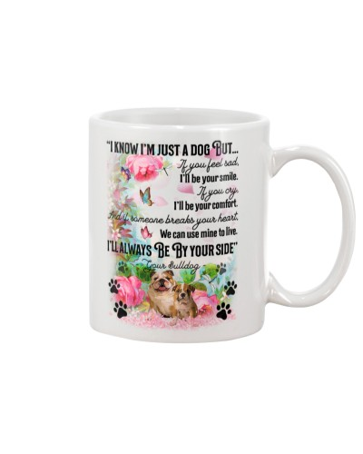 Bulldog i know mug