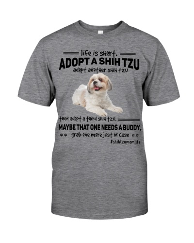 Shih tzu life is short