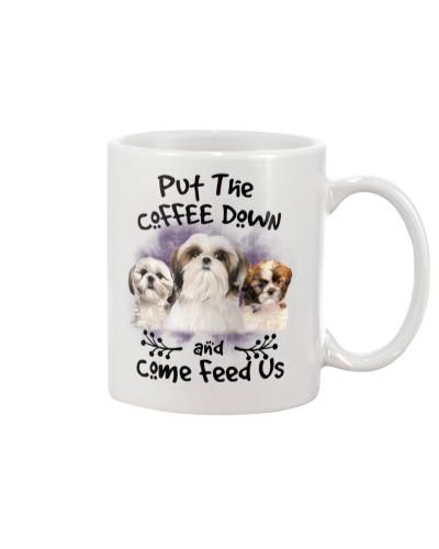 Shih Tzu Put The Coffee Down