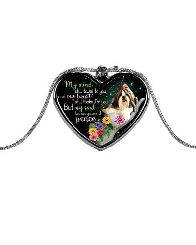 Shih Tzu peace necklace