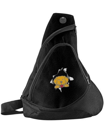 Golden Retriever Torn Sling Pack