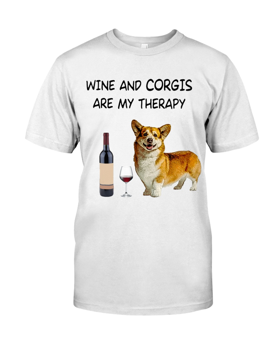 Corgi Wine Unisex Sweatshirt tee