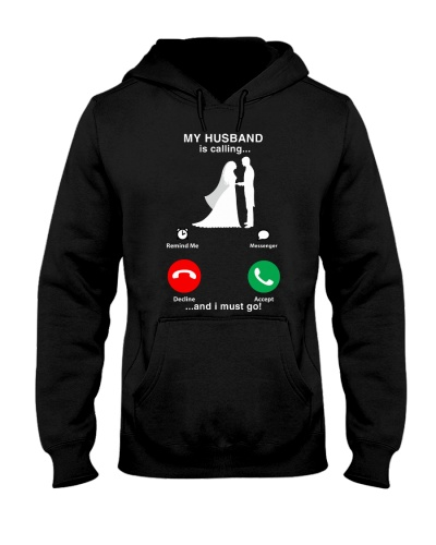 My husband is calling