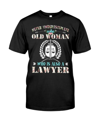 Lawyer Old Woman