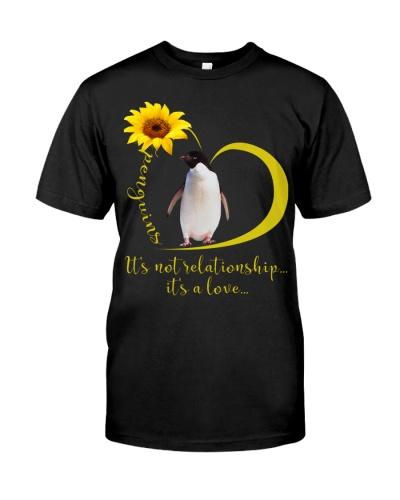 Penguin it is a love