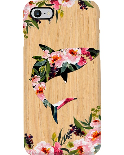 Sharks wood case