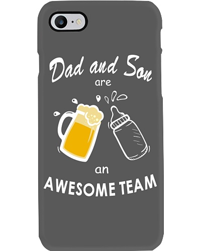 Dad and Son Awesome