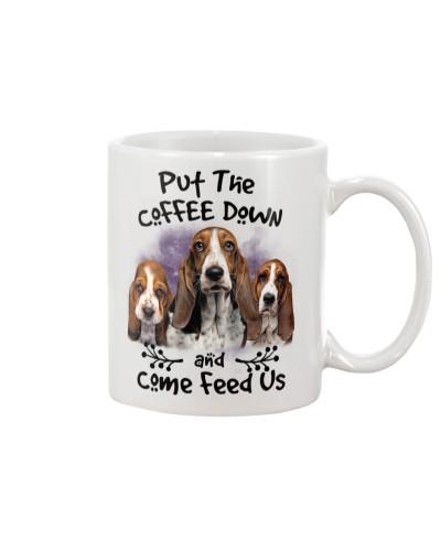 Basset Hound Put The Coffee Down