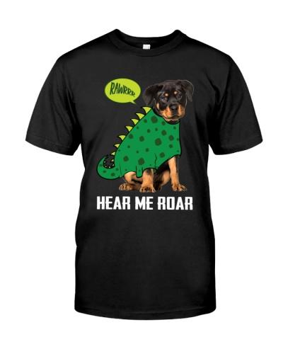 Rottweiler hear me roar