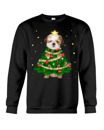 Shih Tzu Christmas Tree