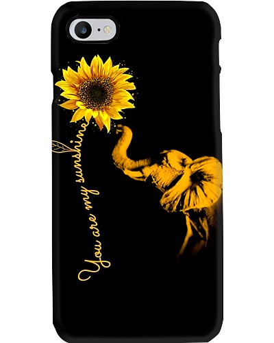 Elephant my sunshine phone case