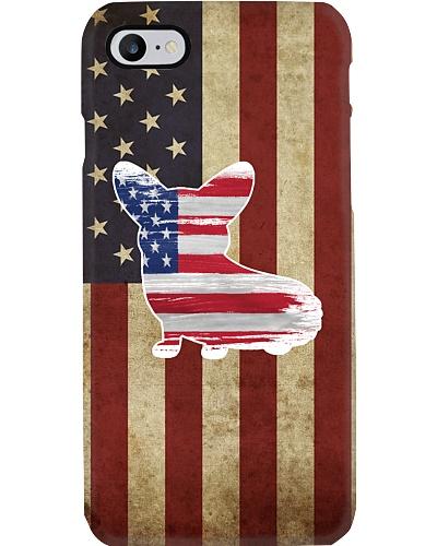 Corgi Flag phonecase