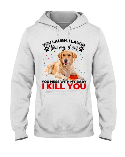 Golden retriever you laugh i laugh