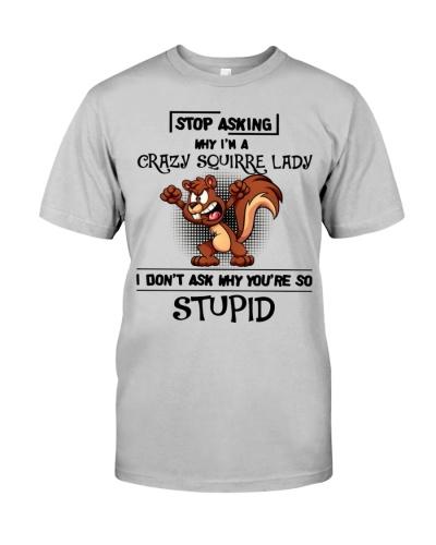 Squirrel crazy lady
