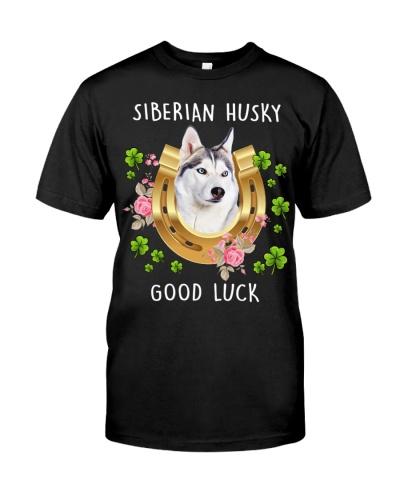 Siberian Husky Good Luck