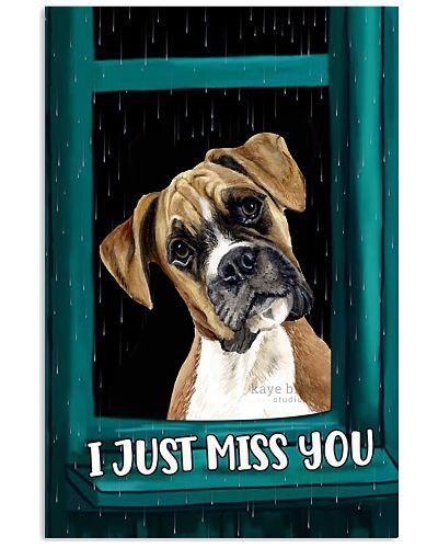 Boxer i miss you poster
