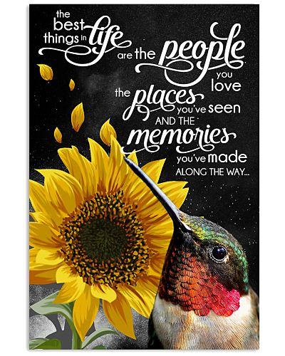 Hummingbird love memories poster