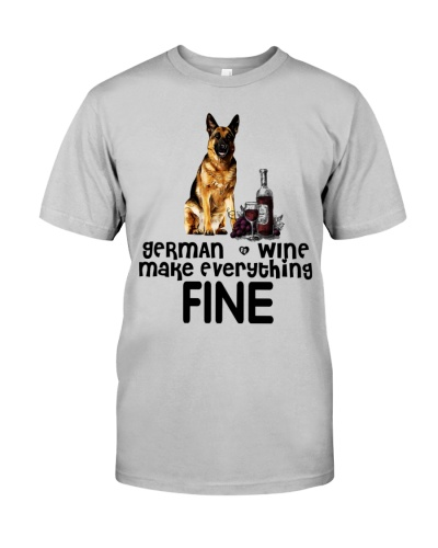 German Shepherd Wine