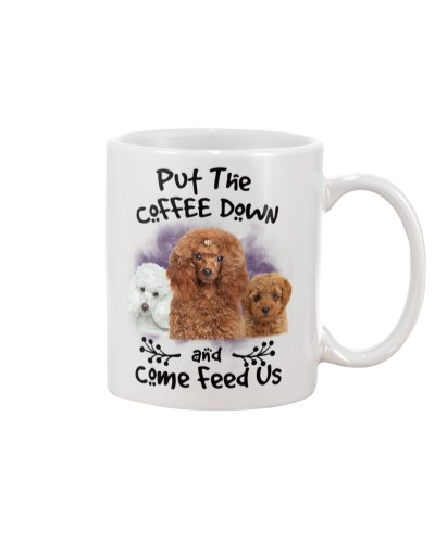 Poodle Put The Coffee Down