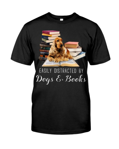 Cocker Spaniels And Books