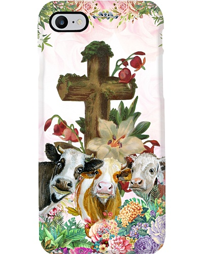 Cow cross phone case