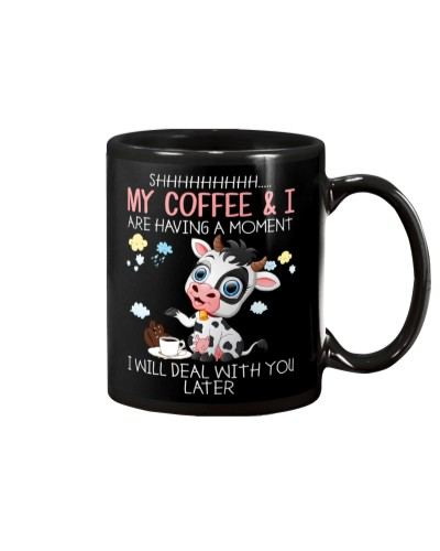 Cow Coffee And I